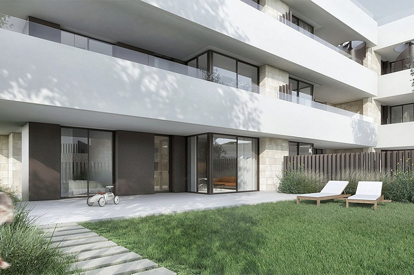 New modern apartment in Palma next to golf courses