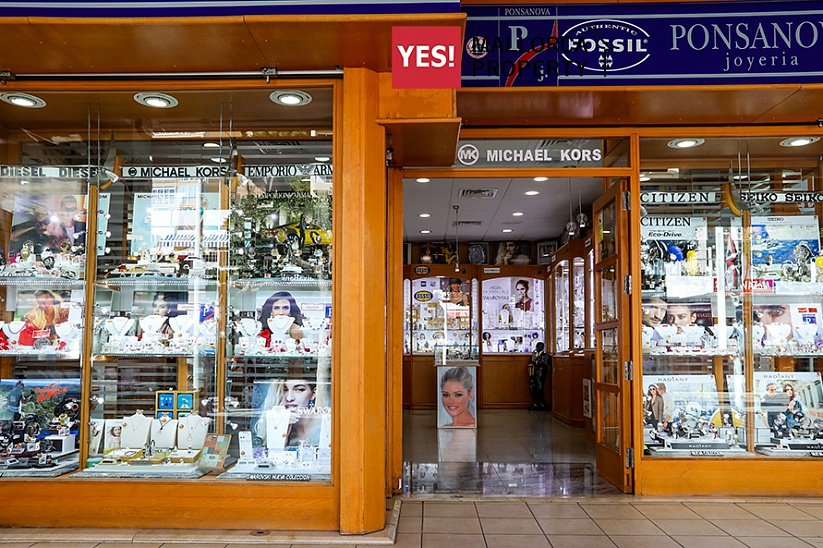 Boutique watches and jewelry in a very good location in Santa Ponsa