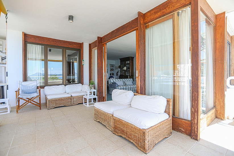 Apartment with fantastic panoramic sea views in Port Pollenca